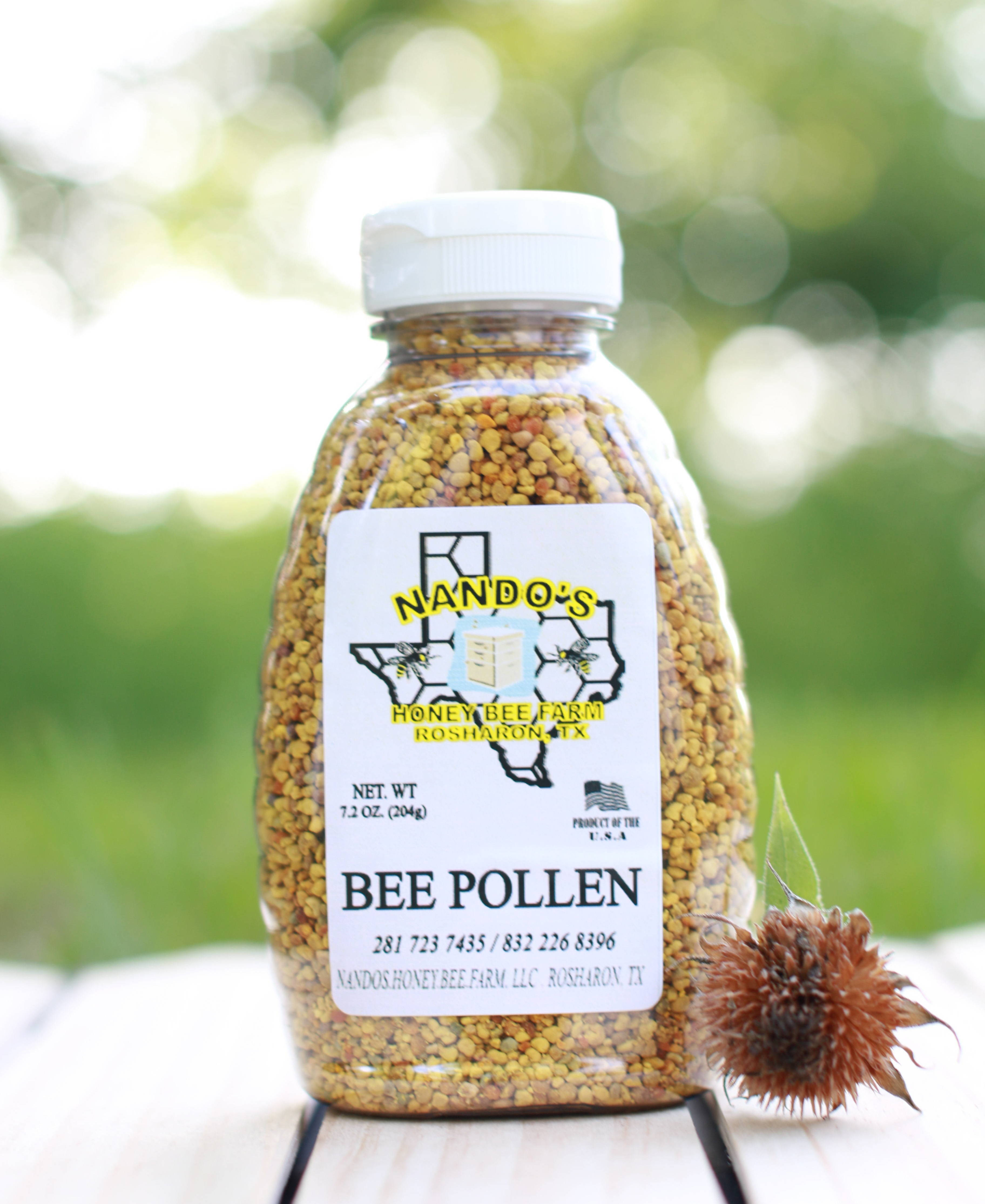 bee pollen nando s honey